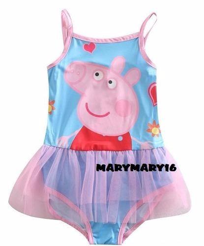 Traje de ba o peppa pig pepa moda fiesta playa piscina - Peppa pig piscina ...