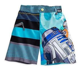 e202e04700a5 Traje De Baño Star Wars R2d2 Disney Store Original Oficial