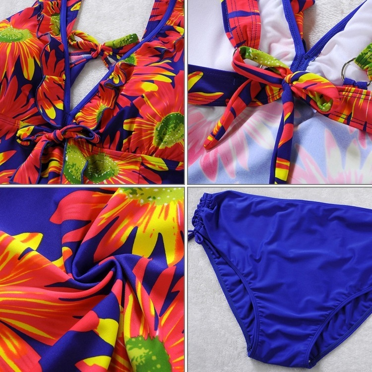 40258a413586 Traje De Baño Tallas Extra Grande Est Flores Envío Gratis