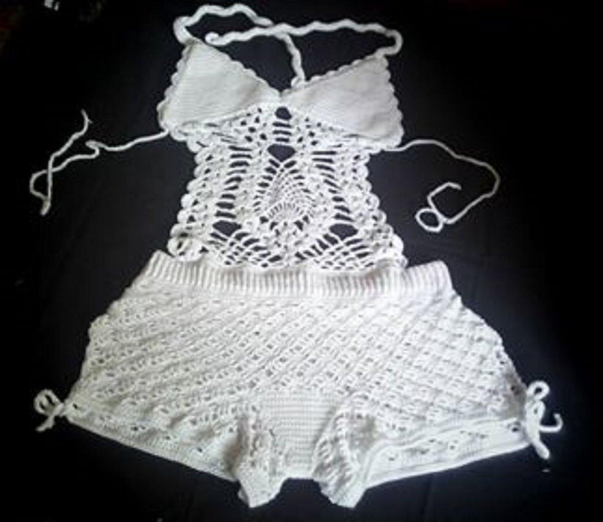 Tejido Traje De Baño Patrones Crochet | www.imagenesmy.com