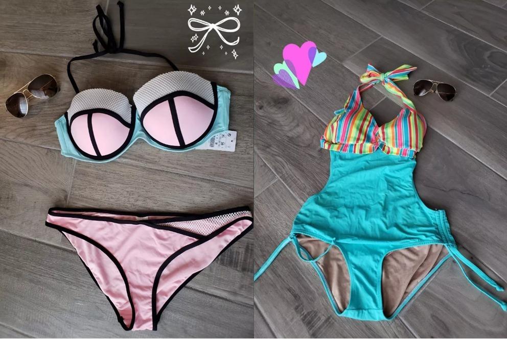 baratas para descuento 9948e 103de Traje De Baño Trikini Bikini Mujer Dama Dos Piezas Lefties - $ 280.00