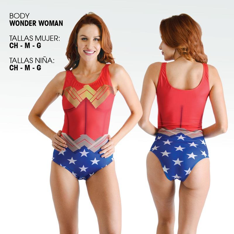 bajo precio 81e05 08e3e Traje De Baño Wonder Woman Envio Incluido Mujer Maravilla