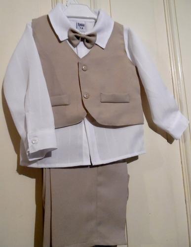 traje de bautismo bebe varón niño fiesta
