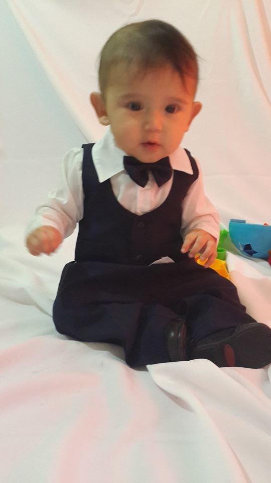 295a6a15d traje de bautismo bebe varón niño fiesta con regalitomedias. Cargando zoom.