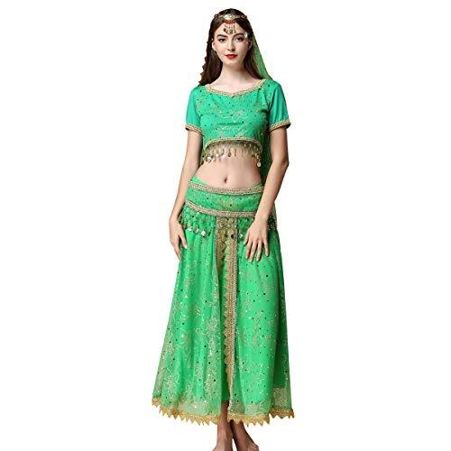2baf23683807 Traje De Bollywood De La Gasa De La Danza Del Vientre De Las