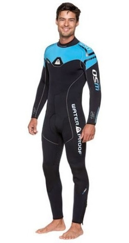 traje de buceo marca waterproof de 5mm