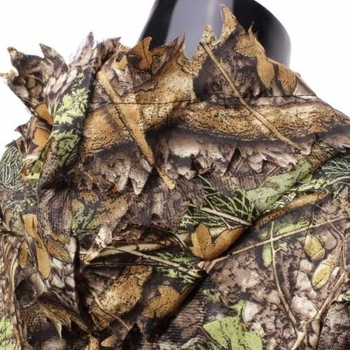 traje de camuflaje buffalo woodland or forest camo ghillie