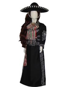 7a45af3288 Traje De Charro Negro Y Plata Bordado en Mercado Libre México