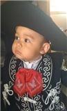 traje de charro bebes bordado mariachi  t/2 revolucion nvb