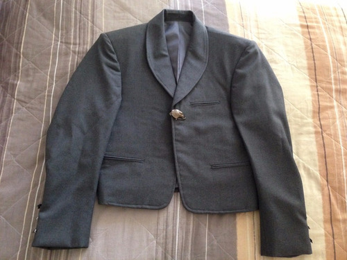 traje de charro media gala seminuevo -  adulto (talla chica)