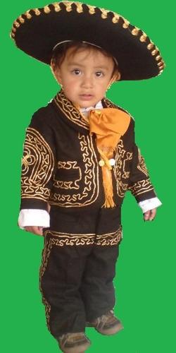 traje de charro para niño