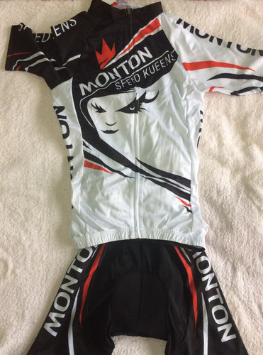 traje de ciclismo mujer