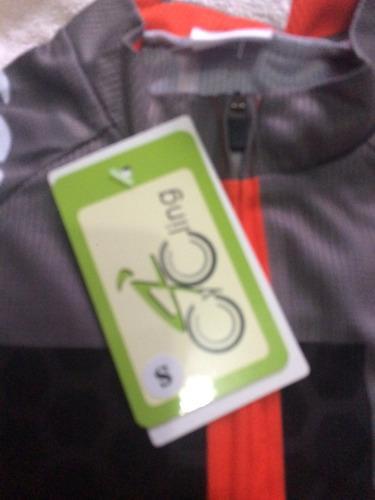 traje de ciclismo talla s largo