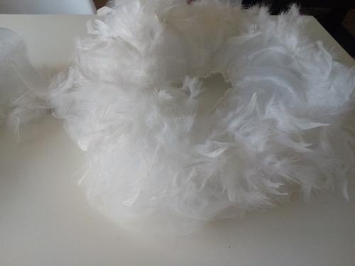 traje de cisne niña tutu y capa con tul y plumas