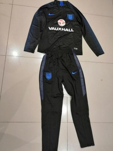 traje de entrenamiento negro inglaterra 2018-2019 - talla s