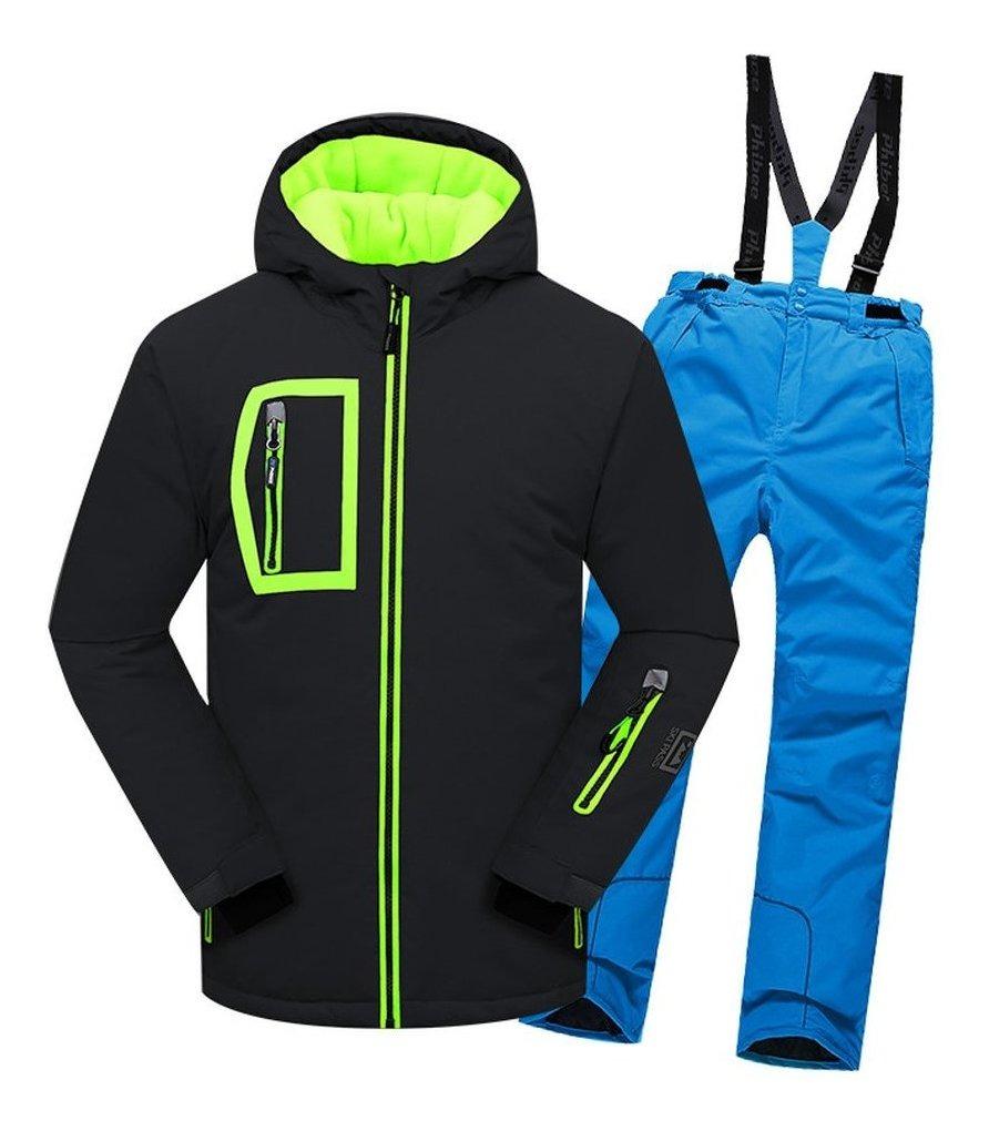 Traje De Esqui Para Ninos Pantalones Impermeables Conjunto 56 727 En Mercado Libre