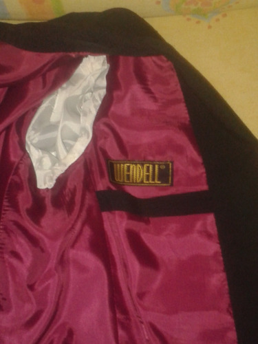 traje de graduacion marca wendell talla 30