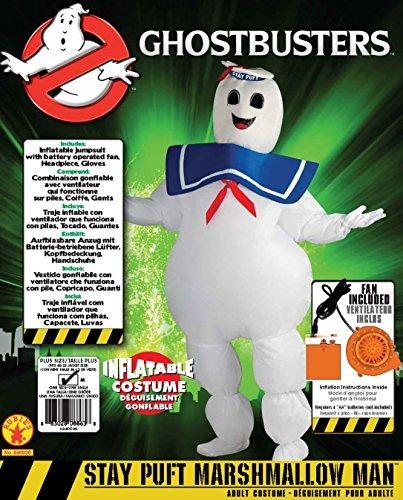 traje de hombre de marshmallow de puffhost infantable stay