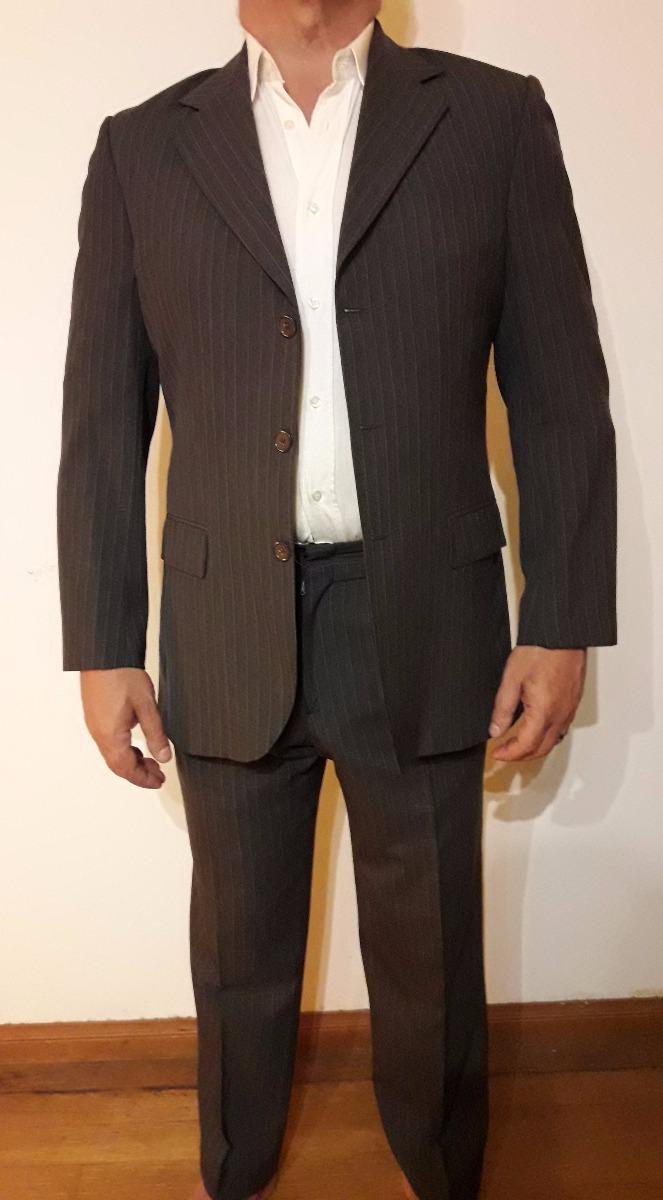 84457d7f57e88 traje de hombre marca james smart super 120 talle 48. Cargando zoom.