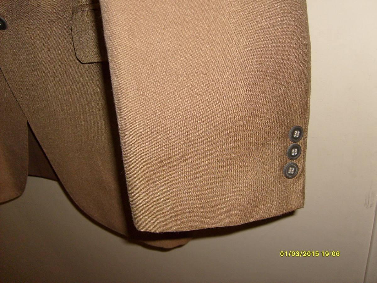 traje de hombre marrón liso verano talle l. Cargando zoom. 2b1ee725170b