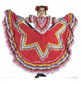 Traje De Jalisco Lujo Mujer Todos Los Colores Envío Grátis