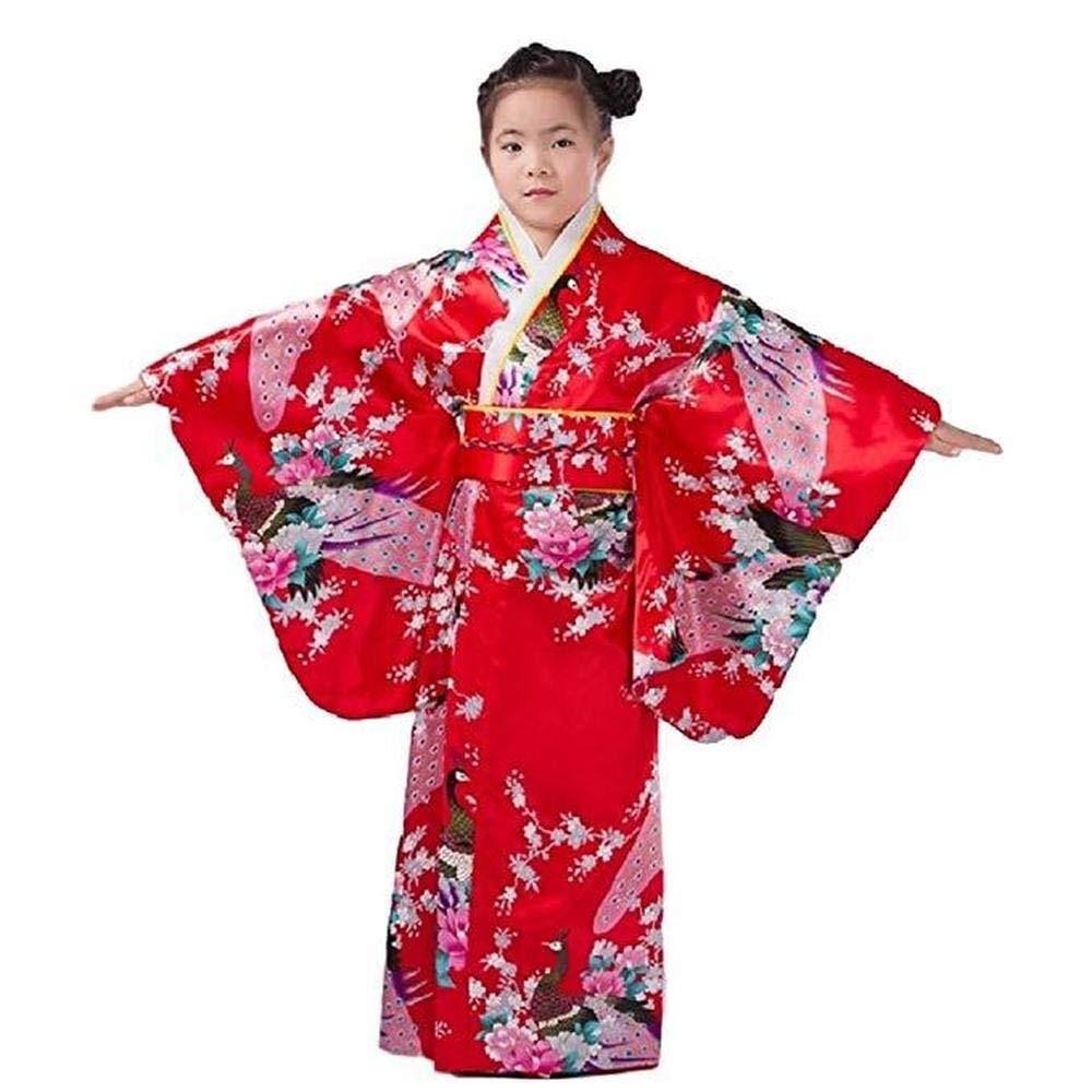 507aaf2a6 Traje De Kimono Vestido Tradicional Japonesa Para Niños Niña