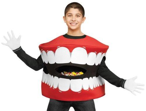 traje de los niños de la boca del colector del caramelo