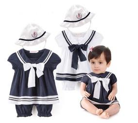 c9fe2cdf7 Traje De Marinero Para Bebe Niña Vestido Bebé Babynova M2