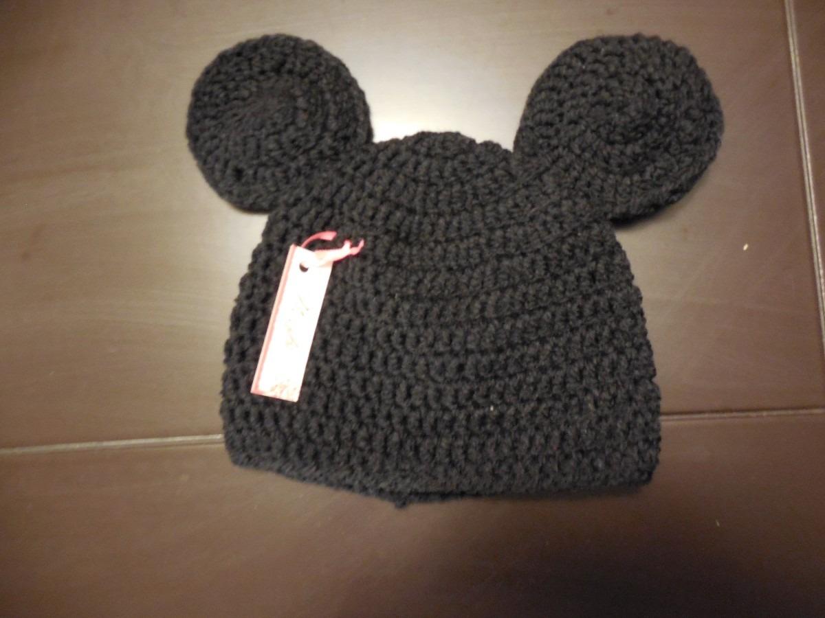 Perfecto Ganchillo Libre Patrón De Mickey Sombrero De Ratón ...