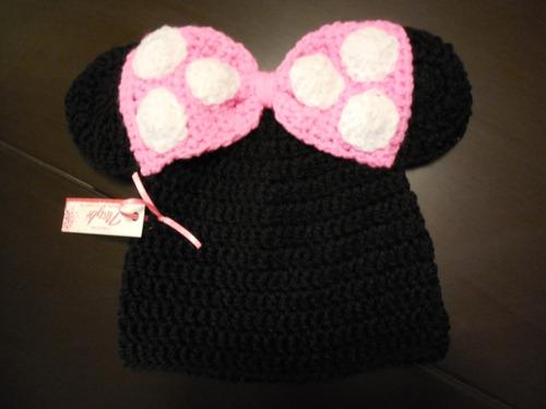 traje de minnie mouse a crochet