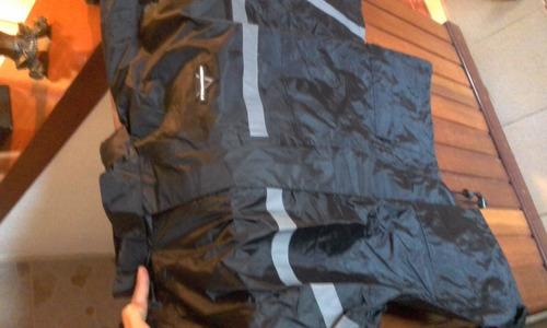traje de motorizado impermeable