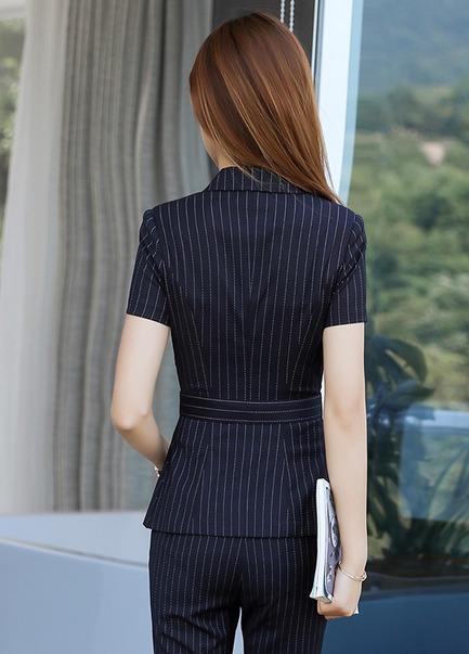 mejor sitio web b3bd7 e9ae2 Traje De Mujer Combo Blazer + Falda + Pantalón Elegante Sexy