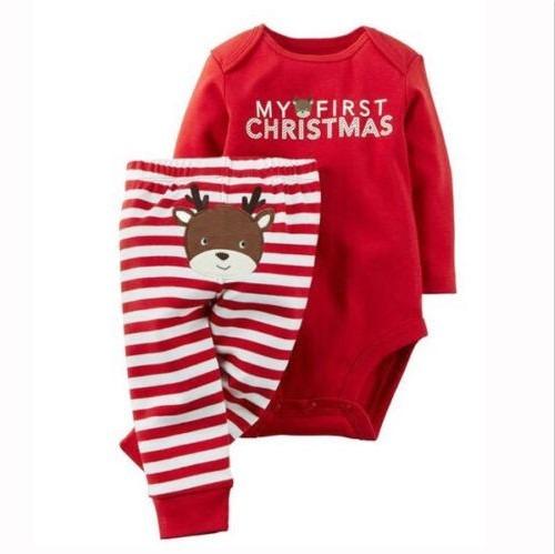 Traje de navidad para bebe mi primera navidad reno 350 - Trajes de navidad para bebes ...