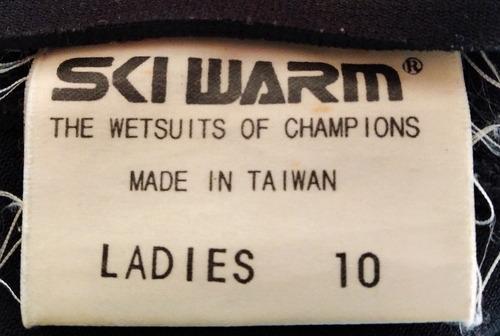 traje de neopreno dama talla m 2mm