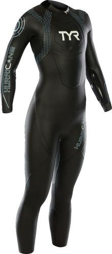 traje de neopreno tyr triathlon hurricane cat 2 mujer