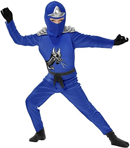 traje de niño azul ninja avenger ii toddler