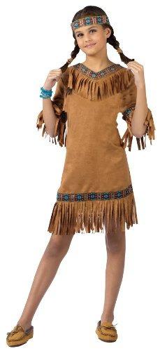 traje de niño niña indio americano (pequeño)