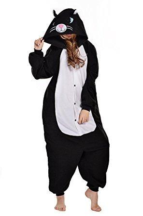 traje de pijamas onesie del perro del gato newcosplay unise