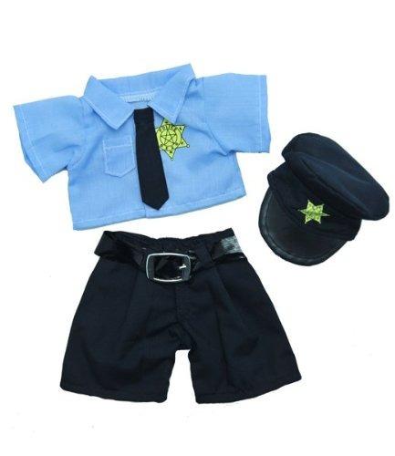 traje de policía ajusta más 8-inch- 10-inch webkinz, shini