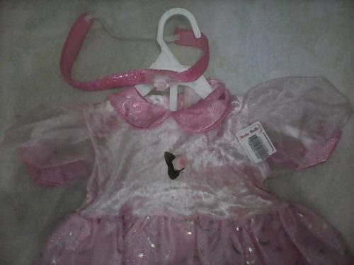 traje de princesa incluye cintillo de obsequio