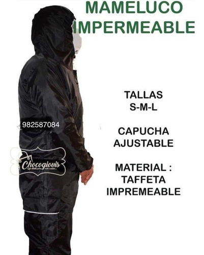 traje de protección lavable mameluco impermeable biosegurida