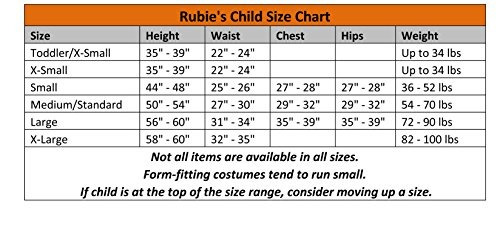 traje de rubies the flash child costume tshirt medium