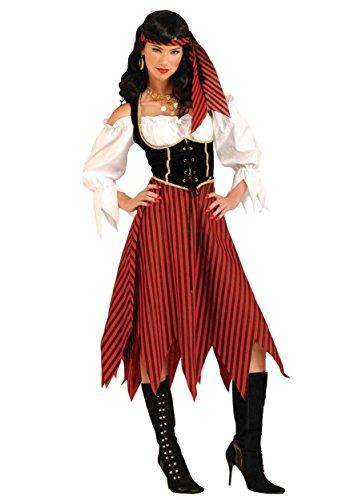 traje de soltera pirata adulto x-small