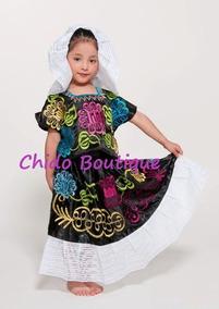 Traje De Tehuana Juvenil Y Dama Guelaguetza Envío Gratis