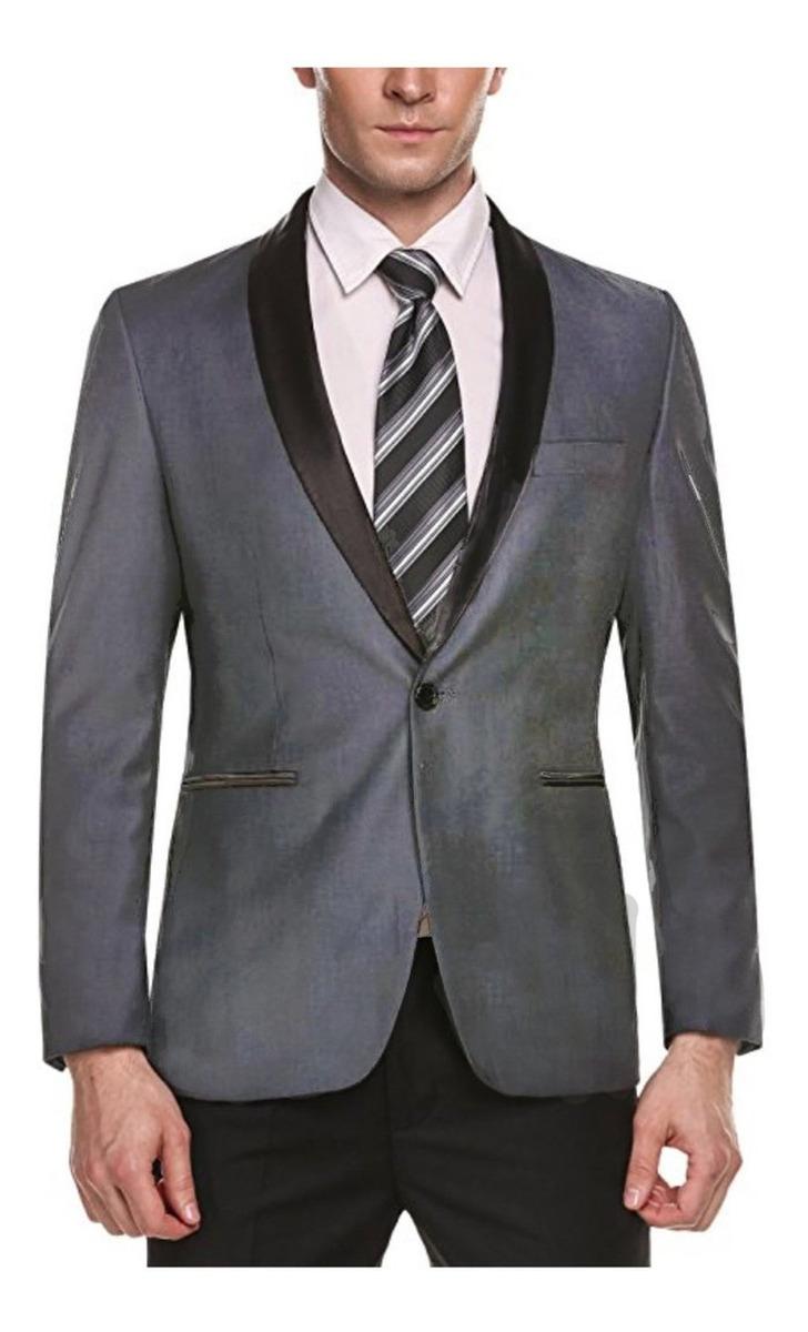 Traje De Vestir Para Hombres Chaqueta De Boda Con Un Solo Bo
