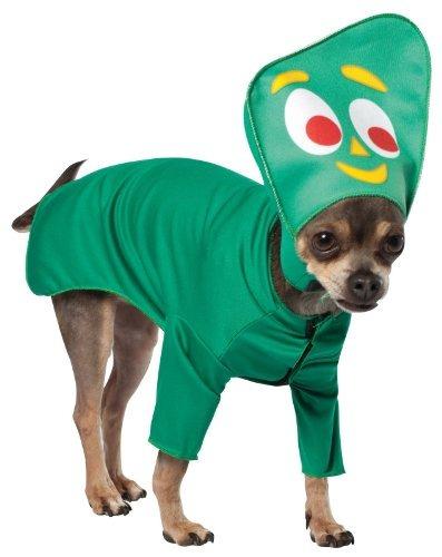 traje del perro rasta imposta gumby, x-small