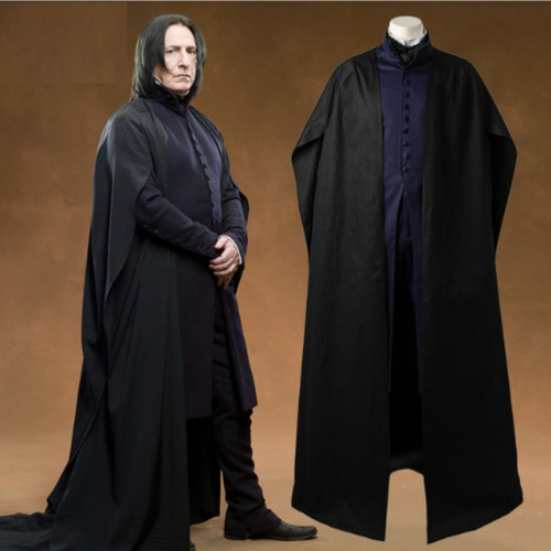 traje disfraz cosplay tunica severus snape harry potter