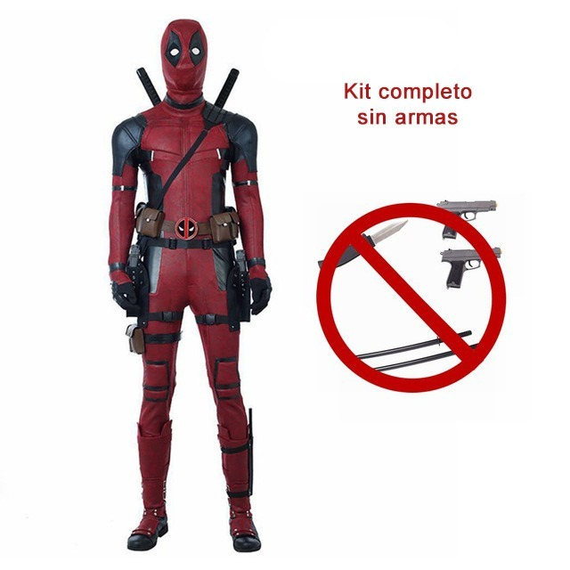 Traje Disfraz Deadpool 2 Marvel Cosplay Super Heroe -   22.610 de6cf00d462f