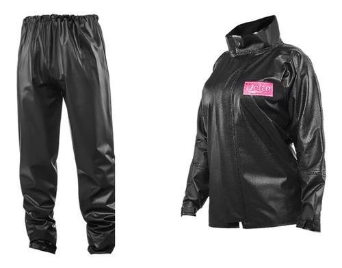 traje equipo lluvia moto impermeable delta mujer talle m