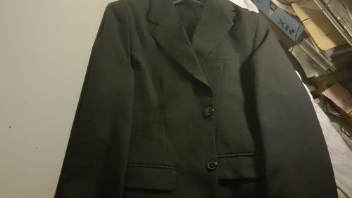 traje  fiesta azul oscuro hombre 42-44 con 2 pantalones